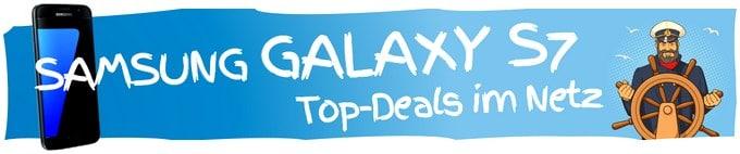 Samsung Galaxy S7 mit Vertrag - die Top-Deals aus dem Netz