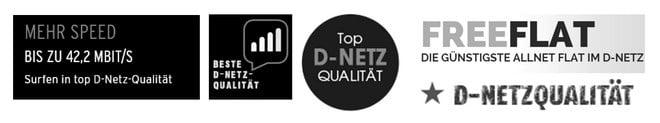 Beste D-Netz-Qualität