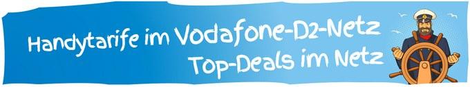 Günstiger Handyvertrag im Vodafone-D2-Netz