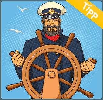 Empfehlung vom Kapitän